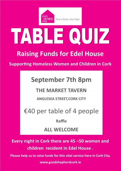 Edel House Table Quiz